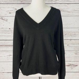 INC V Neck Cashmere Sweater Top NWT